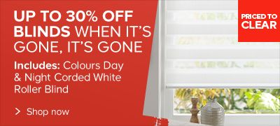 up to 30% on blinds