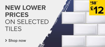 New lower prices on selected tiles