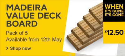 Madeira deck board pack