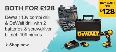 DeWalt Drill & Accessory Set