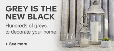 Greys to decorate your home