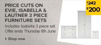 Price cuts on 3 Piece Furniture Sets