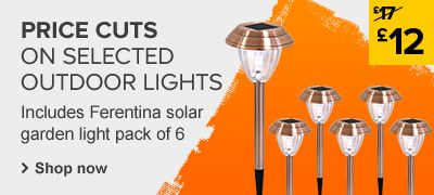 Outdoor lighting price cuts