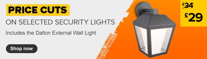 Security Lighting price cuts