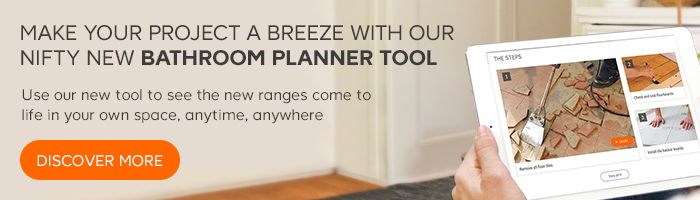 Make your project a breeze with our nifty new bathroom planner tool