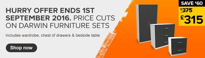 Darwin freestanding furniture price cuts