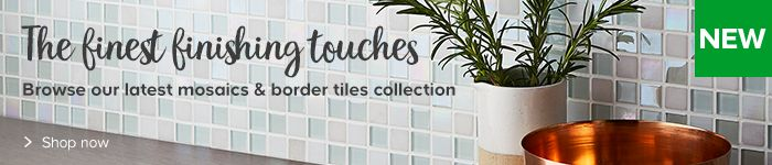 New range of mosaics, add finishing touches to your wall