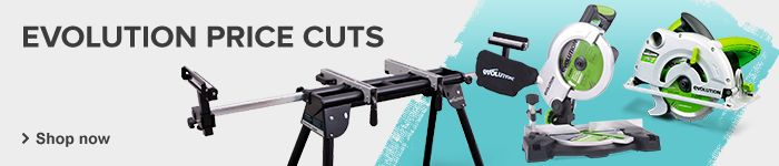 Evolution Saws Price cuts