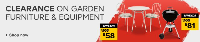 Garden furniture price cuts