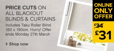Blackout Blinds & Curtains