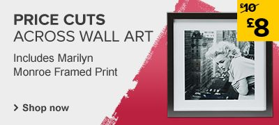 Price cuts on wallart