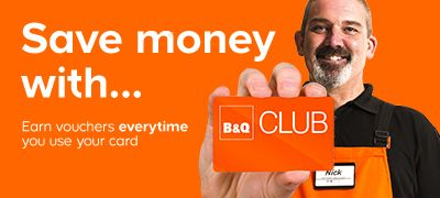 Save money with the B&Q Club