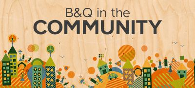 B&Q in the community