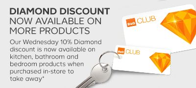 Diamond discount now available on more products