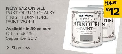 Now £12 on Rust-Oleum Furniture Paint