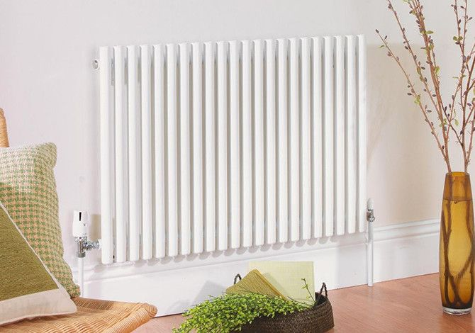 Radiator in living room
