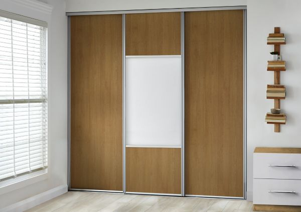sliding wardrobe doors wardrobes diy at b q. Black Bedroom Furniture Sets. Home Design Ideas