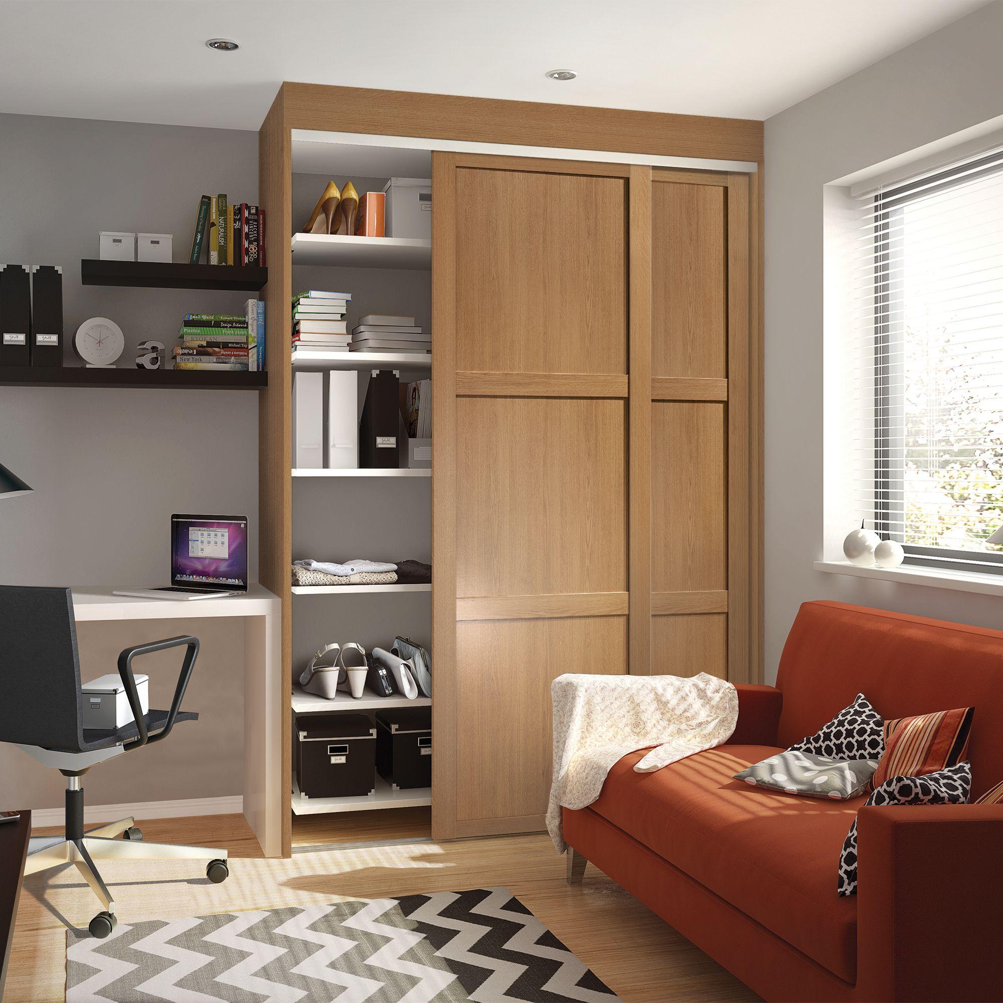 Shaker Single Doors & Sliding Wardrobe Doors u0026 Kits   Bedroom Furniture   DIY at Bu0026Q pezcame.com