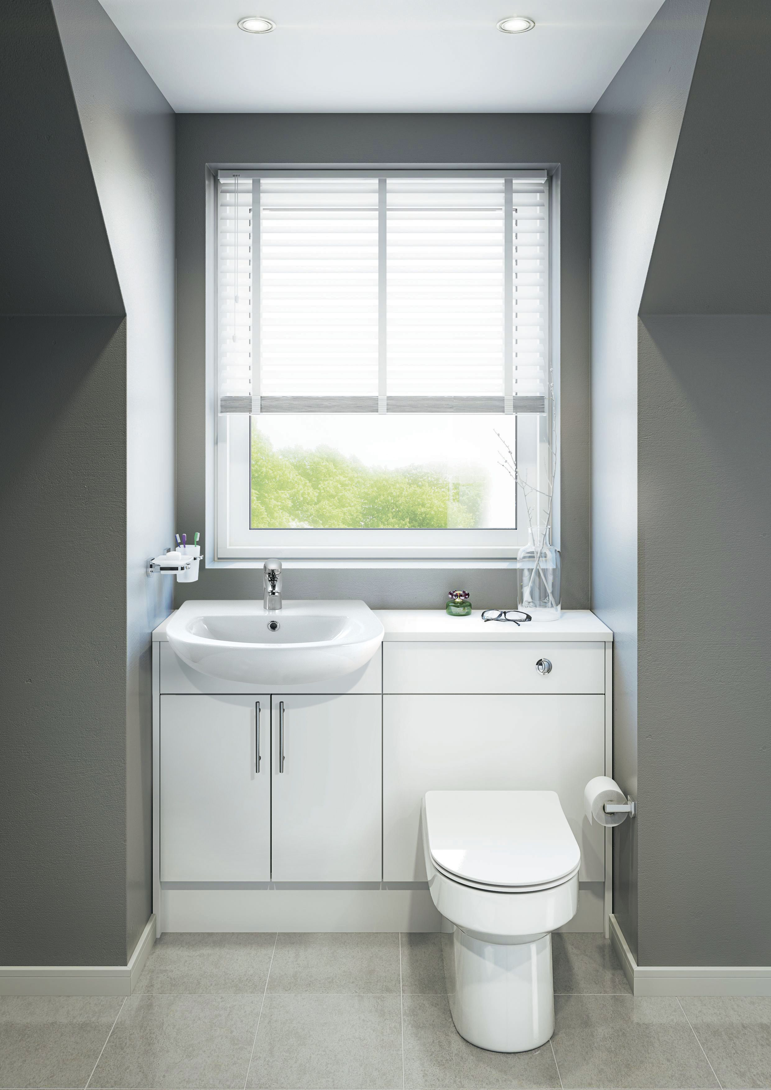 Lovely Santini Fitted Bathroom Furniture