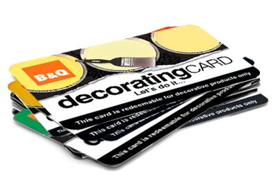 Image of B&Q Decorating Cards