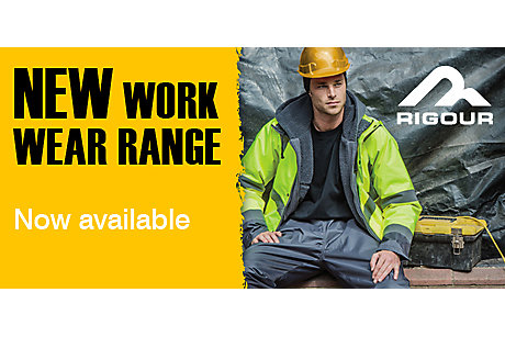 NEW Rigour workwear
