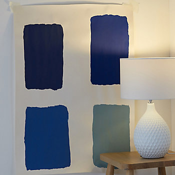 tester strip next to a lamp