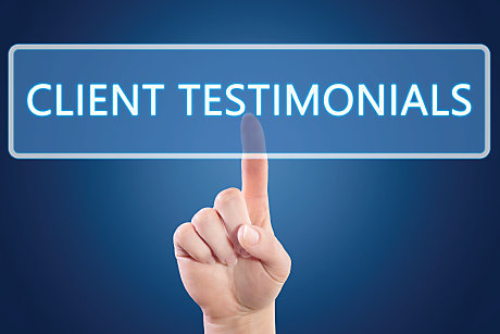 How to Create Great </br>Client Testimonials