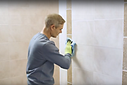 How to tile a feature wall