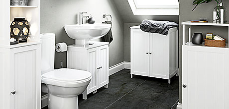 How to maximise storage space in your bathroom