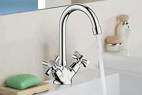 Plumbsure Crystal Bathroom Taps