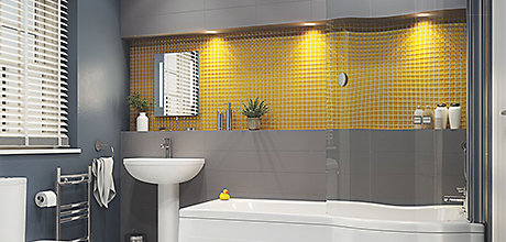 Your bathroom in lights