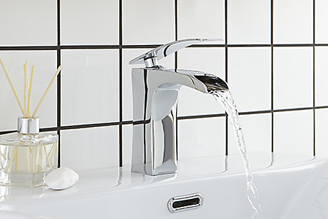 Cooke & Lewis Waterfall Bathroom Taps
