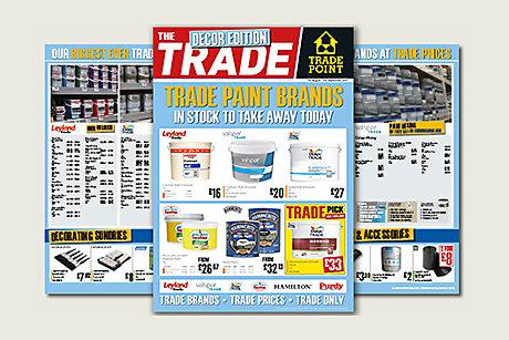 Decorator Trade Flyer