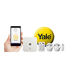 YALE WIRELESS SMART HOME ALARM KIT SR-320