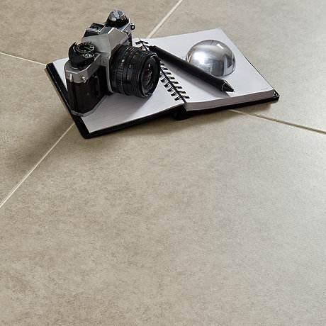 image of Grey Cement Inspired Floor tile
