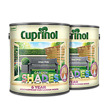 Price cuts on Cuprinol Garden Shades