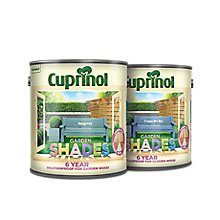 £12 on all Cuprinol Garden Shades 2.5L