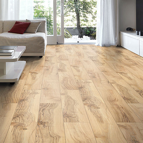 image of Brown Hickory laminate flooring