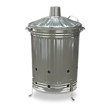 Galvanised Steel 85L Incinerator