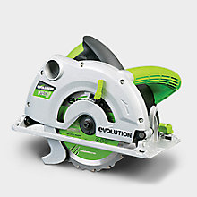 Save £10 when when you buy the Evolution Fury 240V Circular Saw