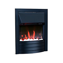 Aemilia Black Electric Inset Fire