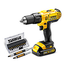 FREE PTA SET WITH SELECTED DEWALT DRILLS