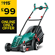 BOSCH ROTAK 400 ELECTRIC ROTARY LAWNMOWER