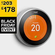 Save £25 on the Nest 3rd Generation Learning Thermostat<br/><strong>BLACK FRIDAY DEAL - HURRY, OFFER ENDS MONDAY 27th November</strong>
