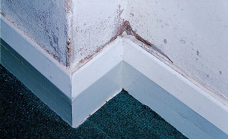 how to clean marks off plaster walls