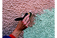 How to paint and repair exterior walls