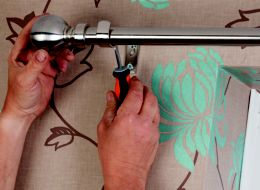 How To Put Up Curtains Amp Blinds Ideas Amp Advice Diy At B Amp Q