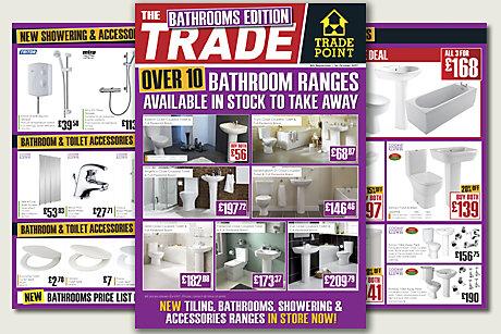 Bathrooms Trade Flyer