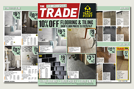 Flooring & Tiling Trade flyer