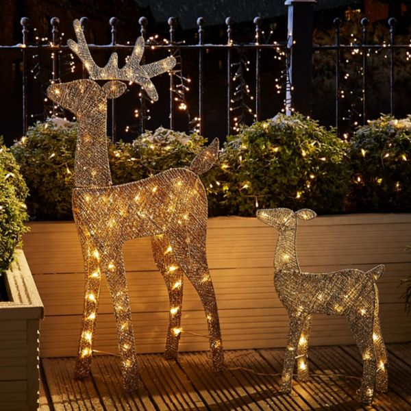 christmas lights outdoor led tree lights diy at bq